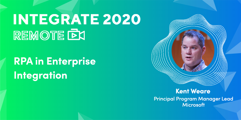 Integrate Remote 2020 banner - RPA in Enterprise Integration