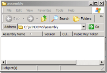 windows assembly folder